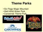 six flags magic mountain wet nwild water park carowinds theme park