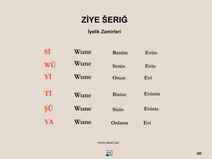 ZYE ERI