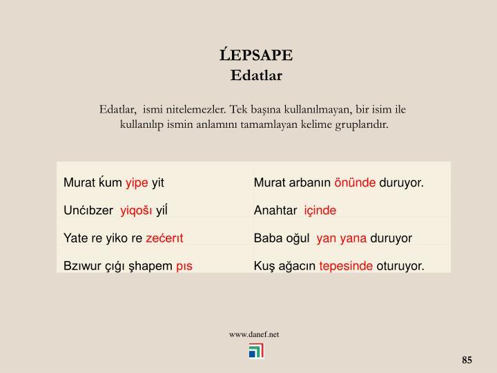 EPSAPE