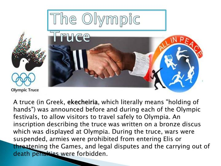 The Olympic Truce