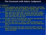 the covenant with adam judgment1