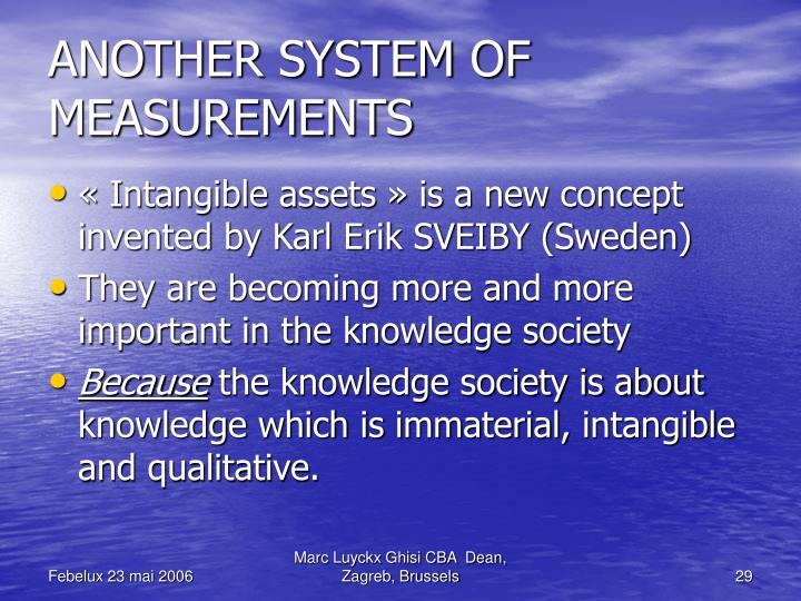 ANOTHER SYSTEM OF  MEASUREMENTS