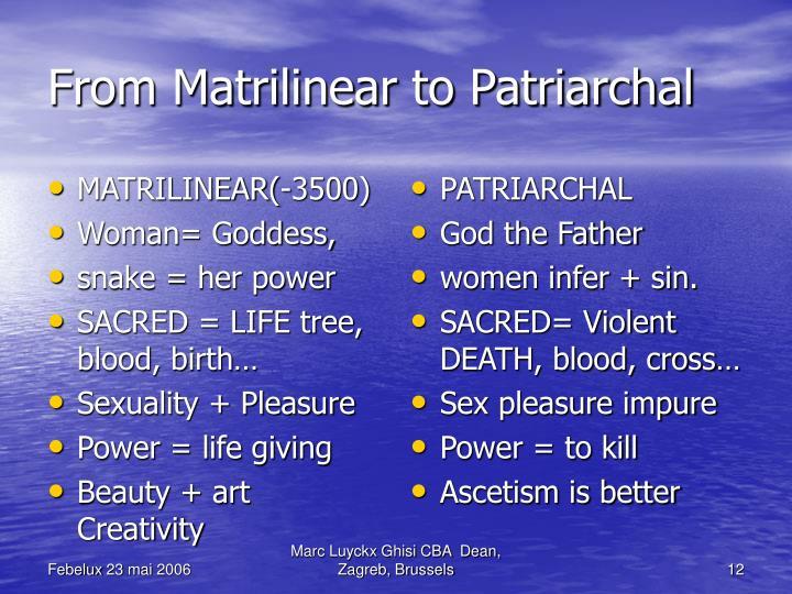 MATRILINEAR(-3500)