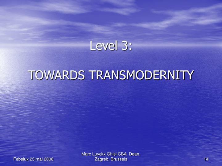 Level 3: