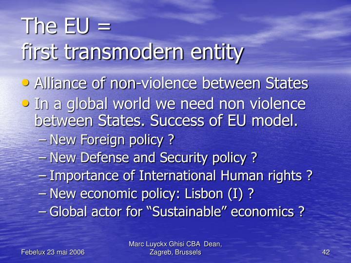The EU =