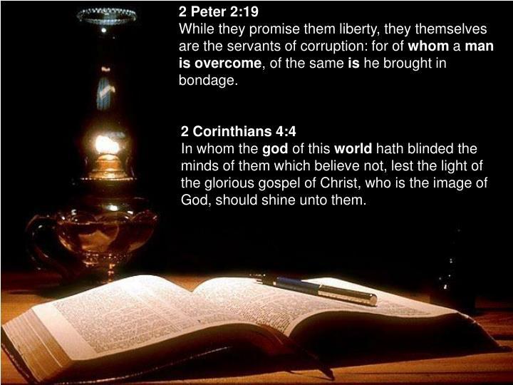 2 Peter 2:19