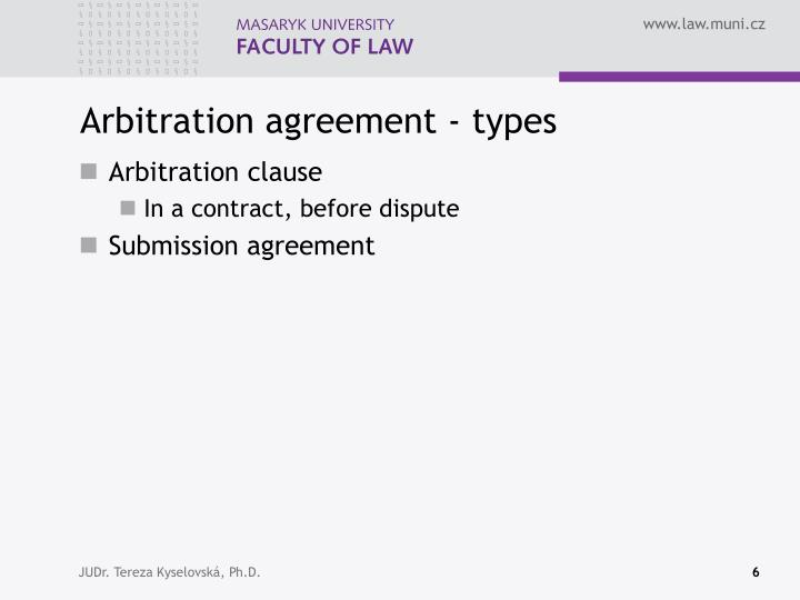 Ppt - Arbitration Agreement . Drafting Arbitration Agreement
