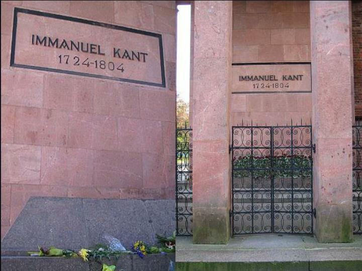 The grave of Immanuel Kant, the last shelter of the great philosopher is at the Cathedral. The tomb was built by Friedrich Lars in 1924. Kant was the most famous thinker in Europe in his own lifetime. He was an extraordinary  man. His working day lasted up to 15 hours (from 5 in the morning till 10 in the evening). He was very