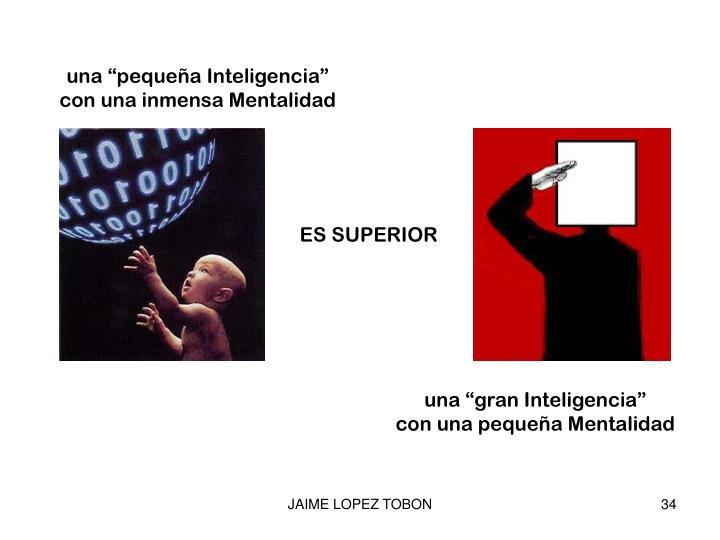 """una """"pequeña Inteligencia"""""""