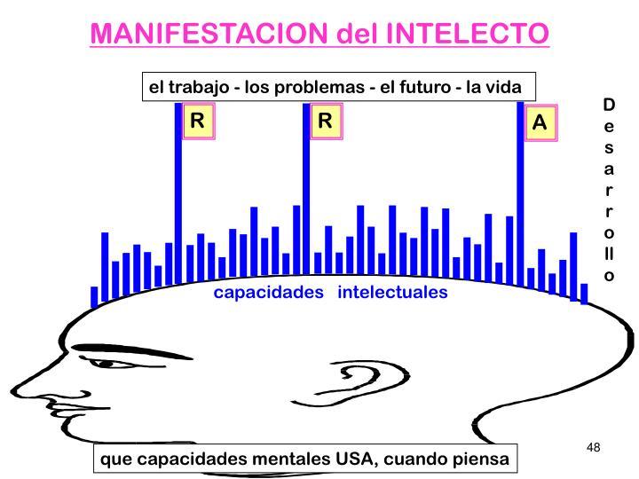 MANIFESTACION del INTELECTO