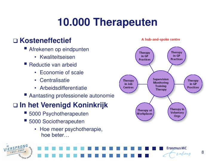 10.000 Therapeuten