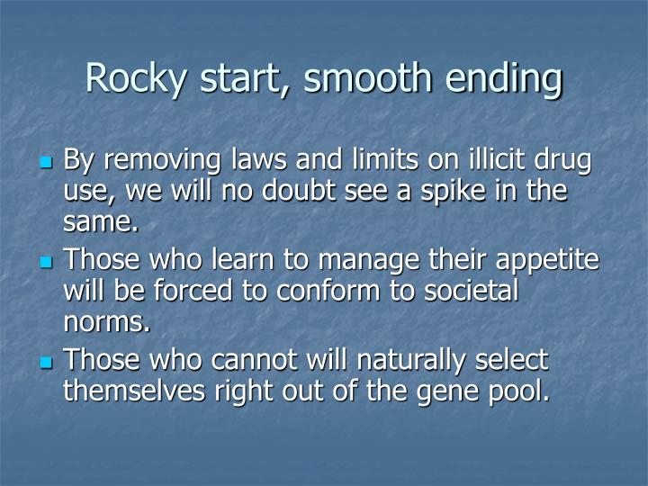 Rocky start, smooth ending