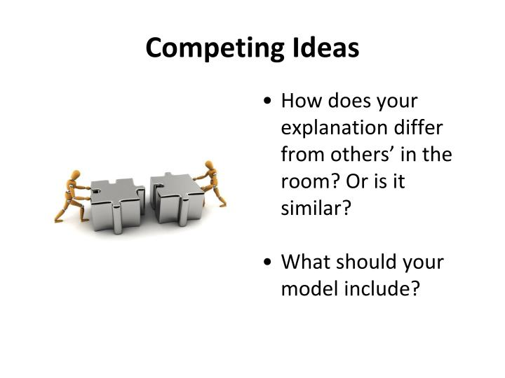 Competing Ideas