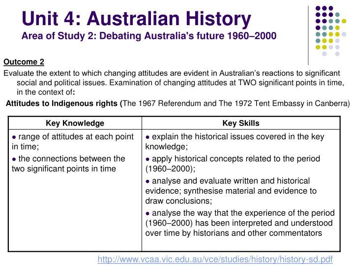 Unit 4: Australian History