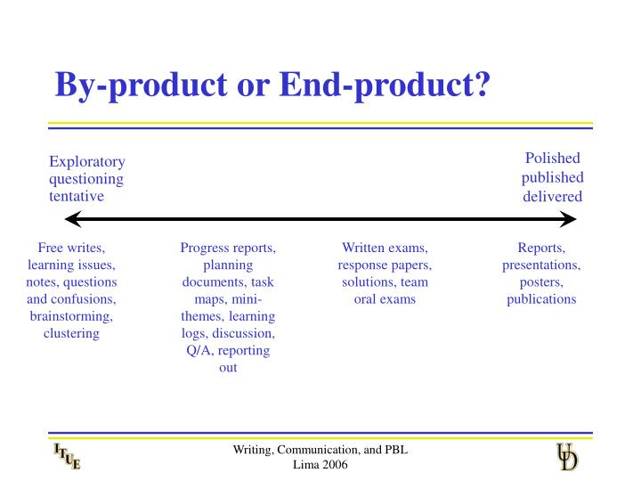 By-product or End-product?