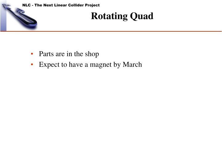 Rotating Quad