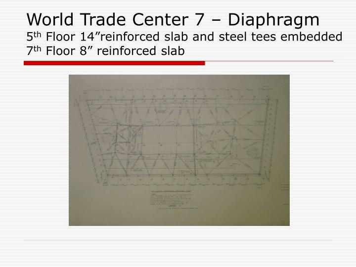 World Trade Center 7 – Diaphragm