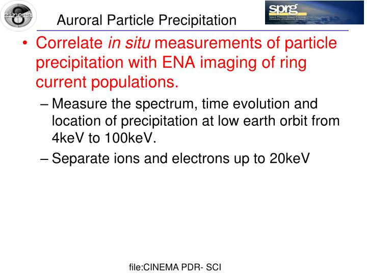 Auroral Particle Precipitation