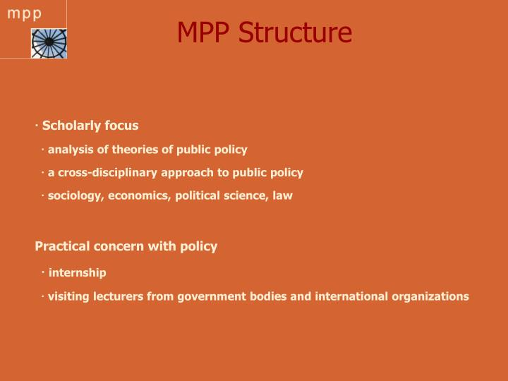 MPP Structure
