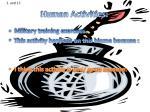 human activities1