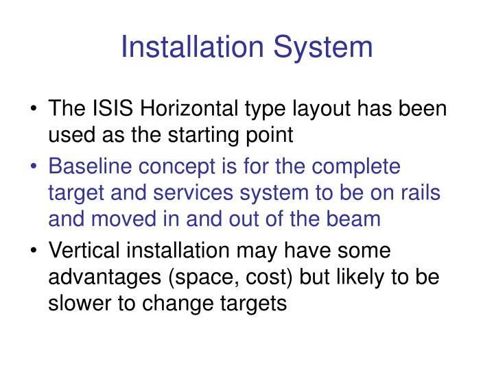 Installation System