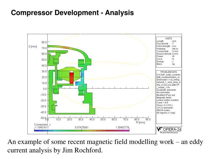 Compressor Development - Analysis