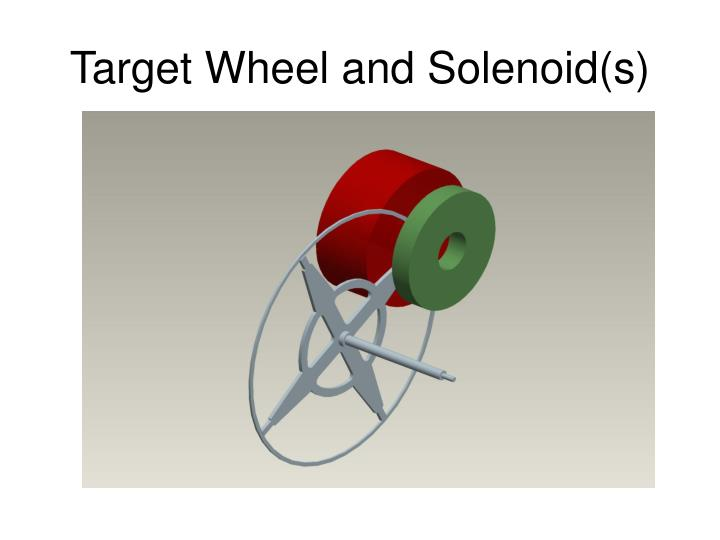 Target Wheel and Solenoid(s)
