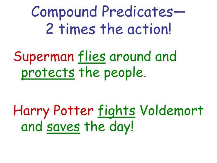 Compound Predicates—