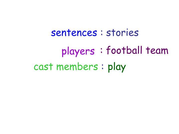 : football team