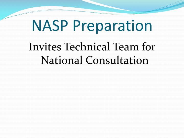 NASP Preparation