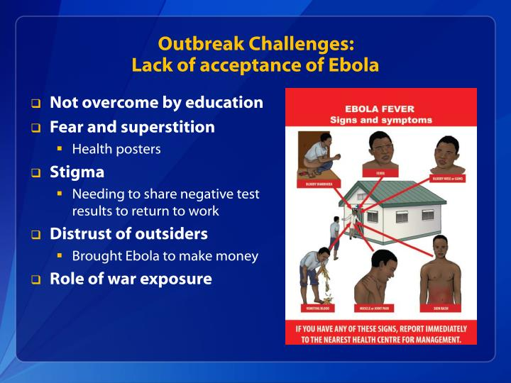 Outbreak Challenges: