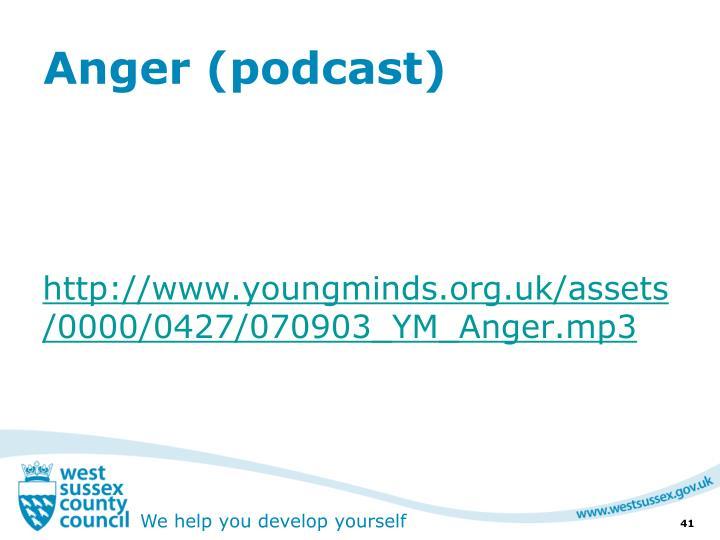 Anger (podcast)