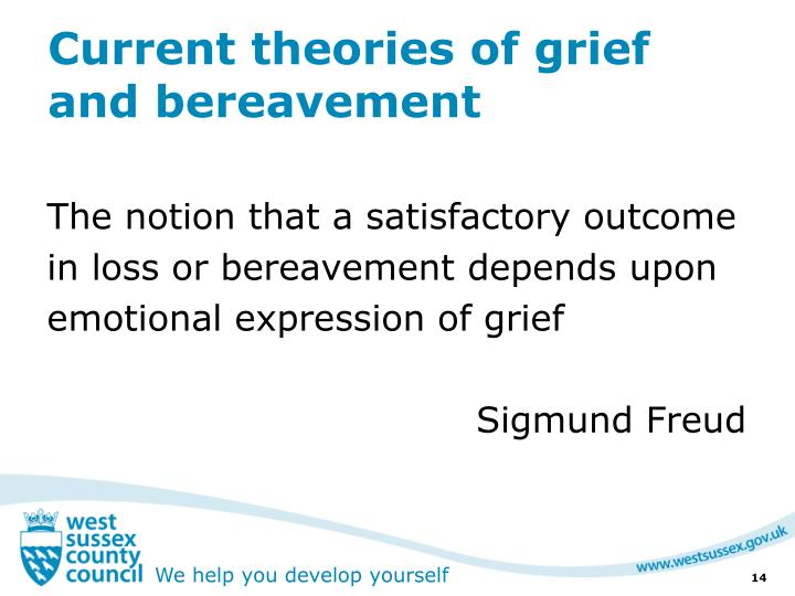 Current theories of grief and bereavement