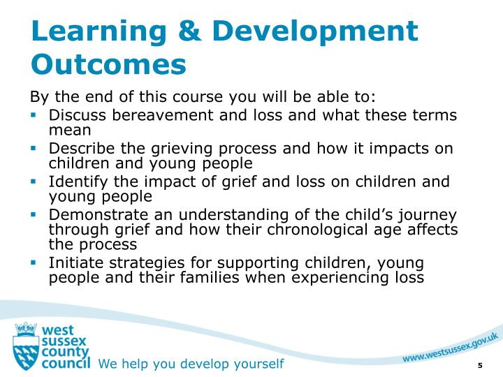 Learning & Development Outcomes