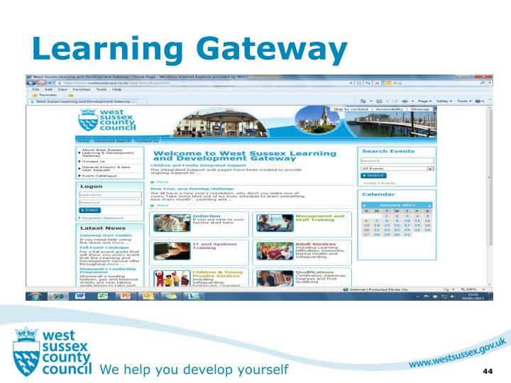 Learning Gateway