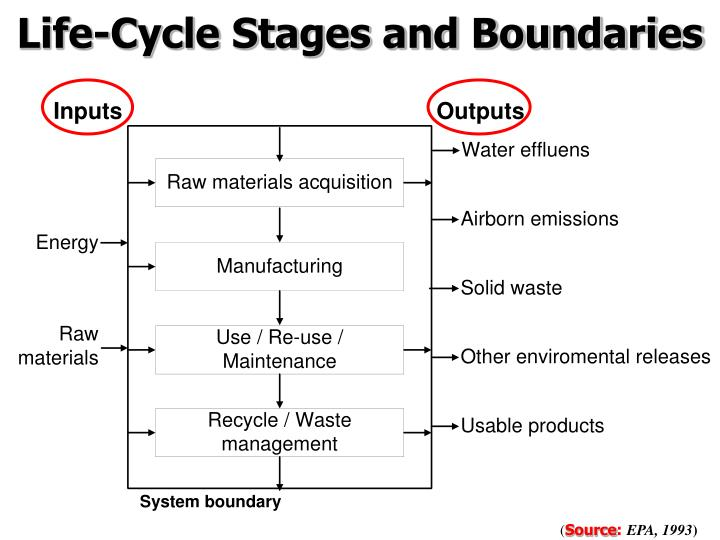 Life-Cycle Stages and Boundaries
