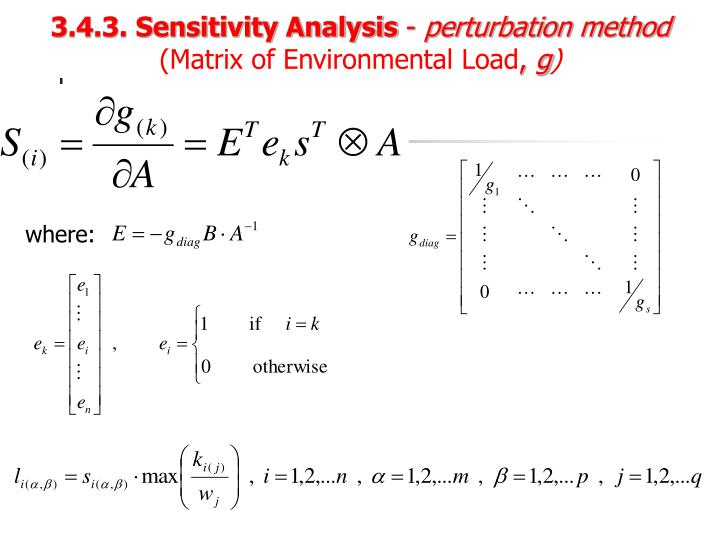 3.4.3. Sensitivity Analysis