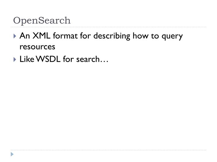 OpenSearch