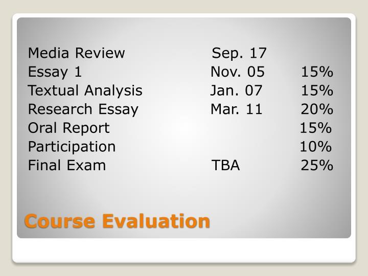 Media ReviewSep. 17
