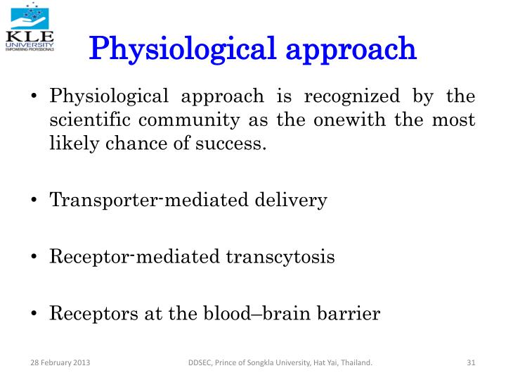 Physiological approach