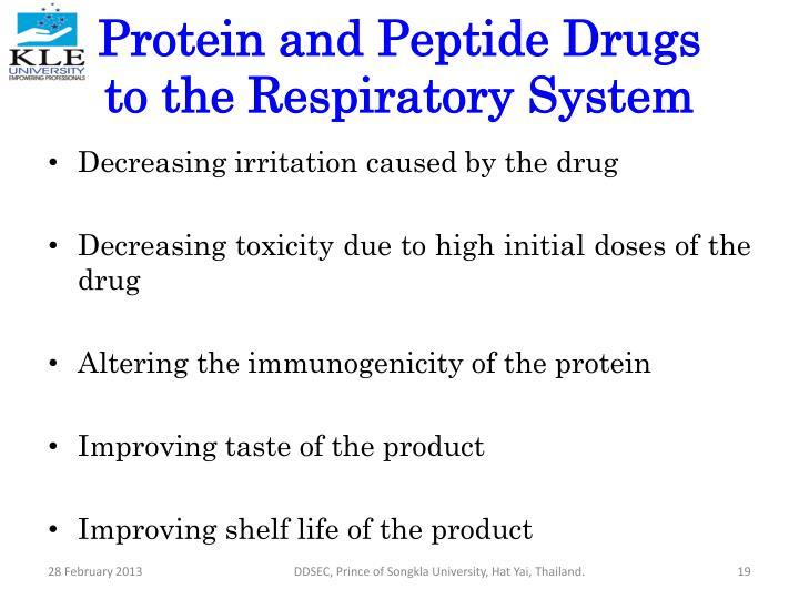 Protein and Peptide Drugs