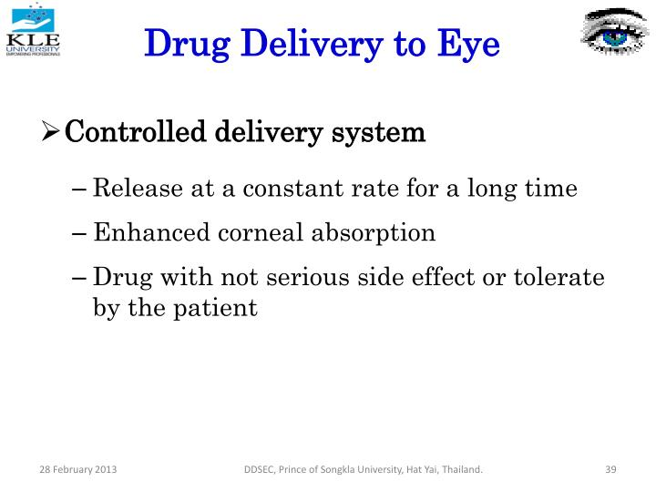 Controlled delivery system