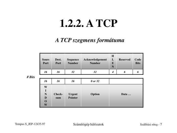 1.2.2. A TCP