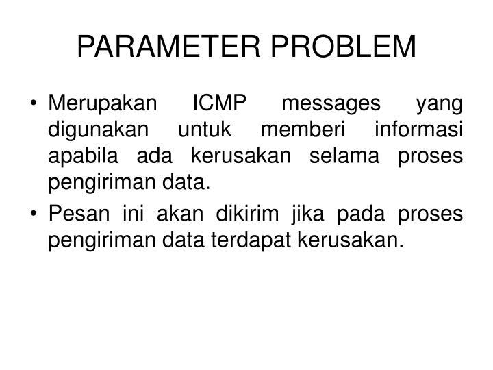 PARAMETER PROBLEM