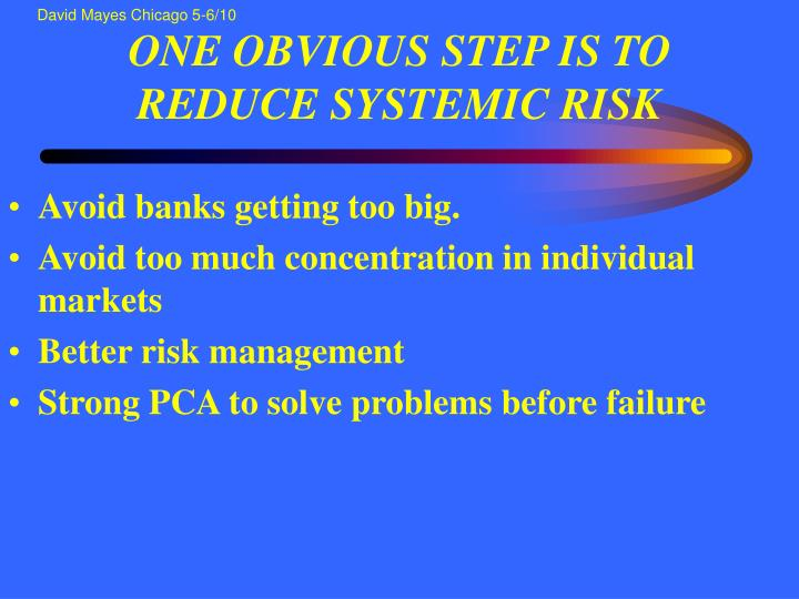 bank relationship management and systemic risk