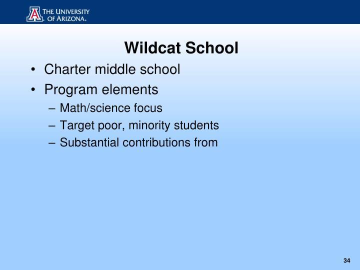 Wildcat School