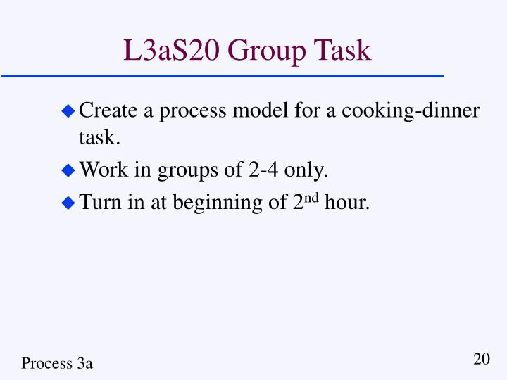 L3aS20 Group Task