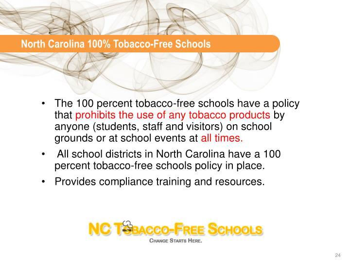 North Carolina 100%