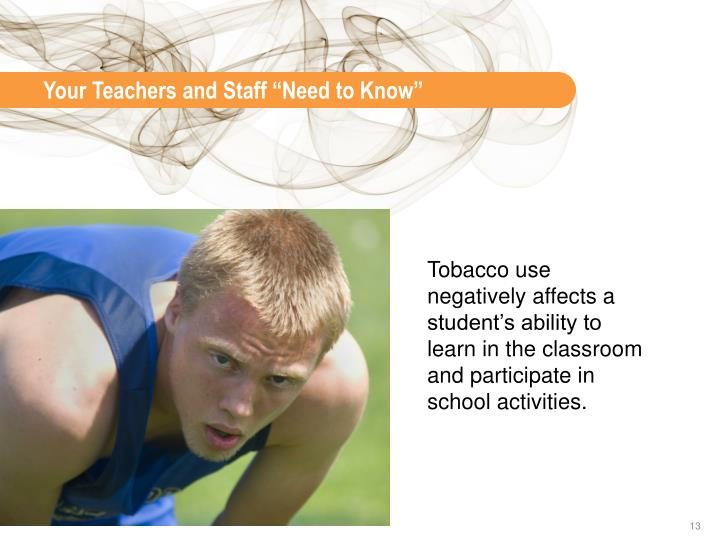 """Your Teachers and Staff """"Need to Know"""""""