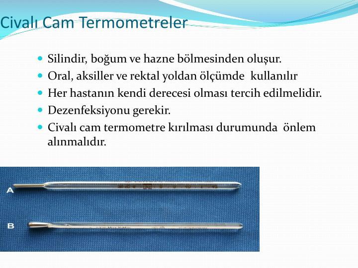 Civalı Cam Termometreler